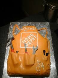 Sons Birthday Cake It Was A Hit With Parents And Home Depot Staff