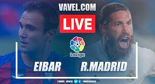 eibar vs real madrid en vivo hoy 1 3