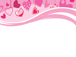 Cute Template Cute Hearts Are Hanging Template Free Ppt Backgrounds And Templates