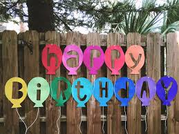 Happy Birthday Balloons Banner Happy Birthday Balloon Banner Kunin Felt
