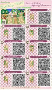 Animal Crossing Happy Home Designer Qr Codes Paths Pin By Jasmin Silva On Acnl Qr Codes Animal Crossing Qr