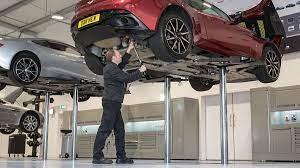 Aston Martin Servicing Book An Aston Martin Service
