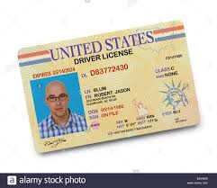 Photo White Isolated Stock - Alamy Driver Background Us License On 73129779