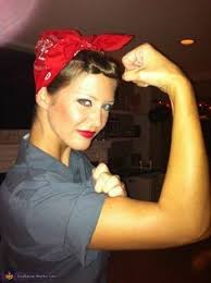rosie the riveter costume all you need from your local goodwill of east texas