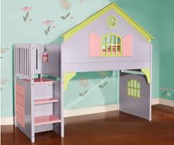 House Bunk Bed 0300 Doll House Stair Stepper Loft Bed Discovery World Furniture