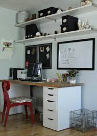 ikea office shelves. Office Shelves Ikea Simple Makeover E