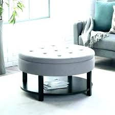 round upholstered coffee table round tufted coffee table large size of ottoman elegant target circle custom round upholstered coffee table