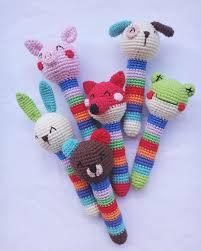 Crochet Animal Patterns Gorgeous Crochet Animal Baby Rattles Patterns Amigurumi Today