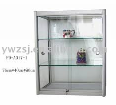 Glass Cabinet For Display Fresh Sliding Case Hardware  Wall Mounted Silver Glass Cabinet For Sale T57