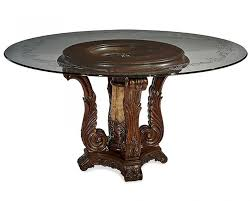 clear colored round glass table tops dining photo on