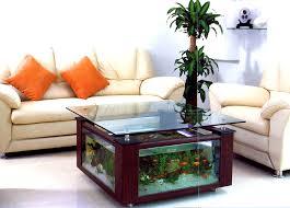captivating modern mirrored glass display fish tank aquarium coffee table plans large