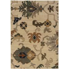 oriental weavers kasbah rug in ivory