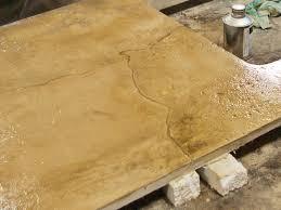 simulated stone concrete countertops