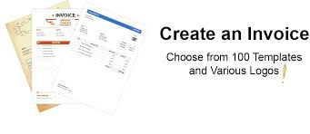 Create Your Own Invoice Template 100 Free Invoice Templates Print Email As Pdf Fast Secure