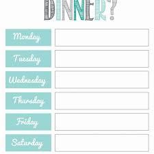 Free Meal Planning Printables Printables Pinterest