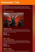 Music Newsletter Templates Email Entertainment Templates Benchmark Email