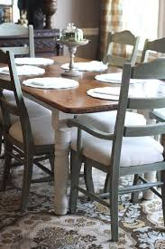 dining chairs painted in annie sloan chalk paint duck egg dark wax craft your home by wilma