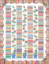 46 best Quilt Border Ideas, Online Lessons & Tutorials images on ... & Wavy Quilt Border Idea + Sew Easy Video Tutorial for Every Size Quilt from  Fons & Adamdwight.com