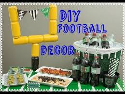 Super Bowl Party Decorating Ideas DIY Super Bowl Party Decor Super Bowl Decorations Do It 31
