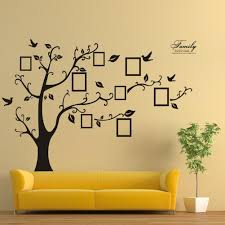 special design memory tree removable wall stickers decal art