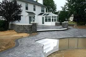 patio wall large size of brick patio designs pictures concrete slab on top of retaining patio wall ideas uk