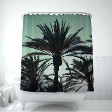 palm tree shower curtains image 0 curtain bed bath and beyond