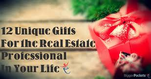 12 unique gifts for the smart talented good looking real estate professional in your life