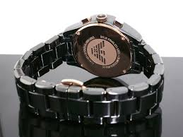 emporio armani ar1411 mens ceramic designer watch was £499 99
