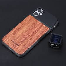 <b>Ulanzi</b> 17 мм <b>объектив</b> резьба Деревянный чехол для телефона ...