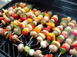 Image result for veggies on grill