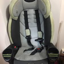 evenflo high back car seat booster babies kids prams strollers on carou