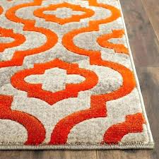 orange and blue area rug orange and green area rugs red and orange rug medium size