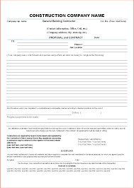 7+ contract proposal template | Procedure Template Sample
