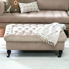 hayneedle coffee table coffee table storage ottoman with tray living tufted storage ottoman with tray table