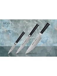 "<b>Набор</b> из 3 <b>ножей</b> ""<b>Samura Mo</b>-<b>V</b>""в подарочной коробке, G-10 ..."