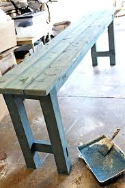 sofa table plans. Diy Sofa Table Gorgeous Build A Farmhouse Furniture Behind . Plans