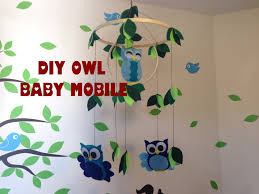 baby owl mobile diy