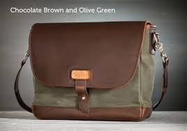 the messenger bag by pad quill leather messenger