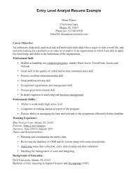 Resume Sample Picture Resume Sample Entry Level Business Analyst Resume Sample Playcineorg 26
