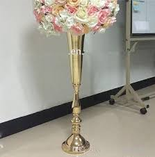 Floral Display Stands Classy No Including Flowerwholesale Luxury Stage Decoration Gold Flower