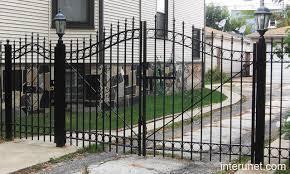 metal fence design. Metal Fence Gate Designs Design E