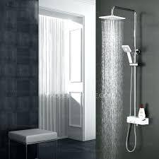 modern chrome stainless steel rain shower system with handheld shower rain shower with handheld rain shower