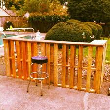 diy patio bar table. Diy Backyard Bar Patio Table