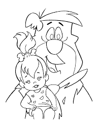 Small Picture Coloring Page Flintstones coloring pages 33