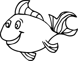 Fish Coloring Pages For Kids Preschool And Kindergarten