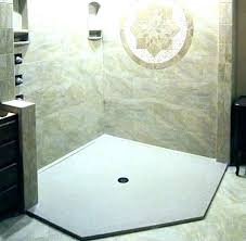 poured shower pans poured shower pans pouring a shower pan custom shower base onyx collection pan poured shower pans