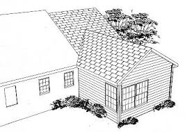 house addition plans. Master Suite Addition Plans | Rear Rendering Image Of New (BRB09) House