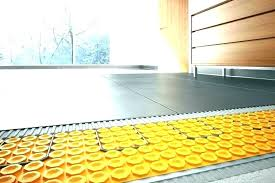 radiant heat under tile floor heated rug bathroom mat floors install heating ceramic cost un
