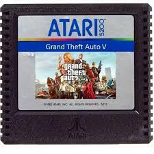 The #atari5200 version of #<b>gta5</b> was epic.   <b>vintage</b> games   Atari ...