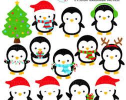 cute penguin christmas clipart. Brilliant Clipart On Cute Penguin Christmas Clipart